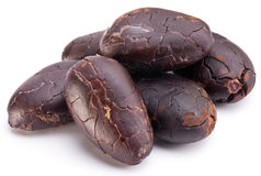 Cocoa beans. Royalty Free Stock Photography