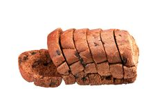 Cocoa Bread with chocolate chip Royalty Free Stock Image