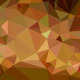 Cocoa Brown Abstract Low Polygon Background Royalty Free Stock Images