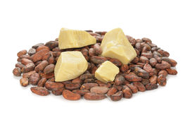 Cocoa butter Royalty Free Stock Photography