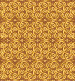 Cocoa celtic knot background Stock Image