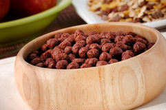 Cocoa cereal balls Royalty Free Stock Image