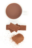 Cocoa And Chocolate Royalty Free Stock Image