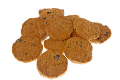 Cocoa chocolate cookies Stock Photo