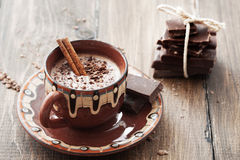 Cocoa and chocolate Stock Photos