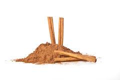 Cocoa and Cinnamon Stock Photos