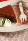 Cocoa dessert Stock Images