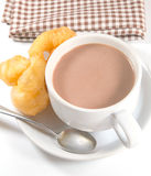 Cocoa doughstick Stock Images