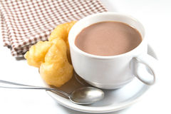 Cocoa doughstick Stock Photography