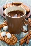 Cocoa drink Royalty Free Stock Photos