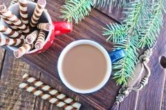 Cocoa drink Stock Photos