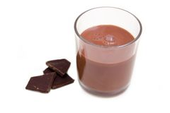 Cocoa drink Stock Photography