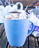 Cocoa drink Royalty Free Stock Photos