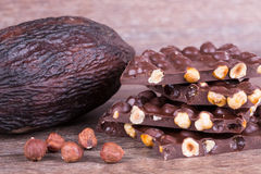 Cocoa fruit Royalty Free Stock Photos