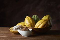 Cocoa fruit Royalty Free Stock Image