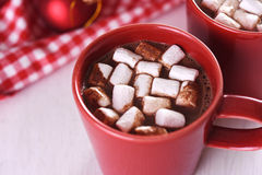 Cocoa with marshamallow Royalty Free Stock Image