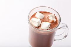 Cocoa with marshmallows Royalty Free Stock Images