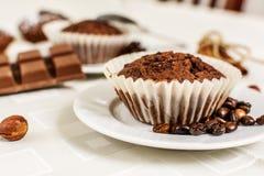 Cocoa muffin Stock Photo