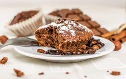 Cocoa muffin Stock Image