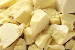 Cocoa oil stock image