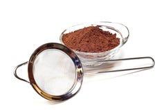 Cocoa powder 1 Stock Photos