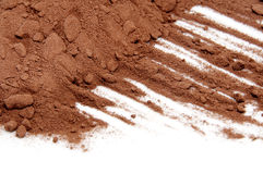 Cocoa powder Royalty Free Stock Photo