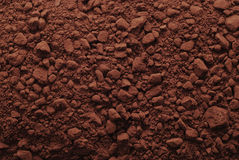 Cocoa powder background Royalty Free Stock Photography