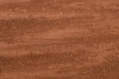 Cocoa powder background Stock Images