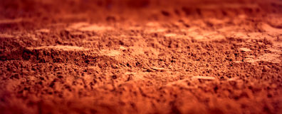 Cocoa powder background Stock Photos