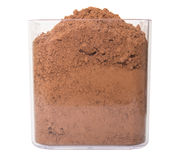 Cocoa Powder In Container I Stock Images