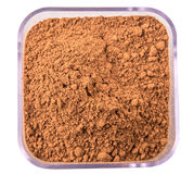 Cocoa Powder In Container III Stock Image