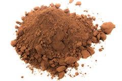 Cocoa Powder. For making chocolates Stock Photo