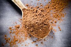 Cocoa powder. Stock Photo