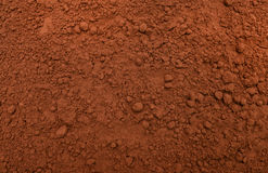 Cocoa powder texture Stock Images