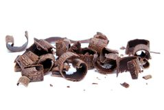 Cocoa Shavings Stock Photography