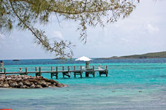 cococay bahamas Arkivbilder