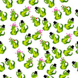Cocodrilo o cocodrilo lindo Imagen de archivo libre de regalías