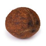 Coconut. Piece fresh coconut  on white background Stock Photo