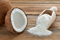 Coconut. Close up of a coconut Stock Image