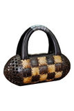 Coconut Bag Handmade. The coconut shell wallet. You can buy more tourist attraction in Thailand Royalty Free Stock Photography