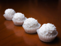 Coconut balls Stock Images