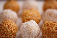 Coconut Balls Stock Image