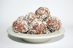 Coconut-balls Royalty Free Stock Image