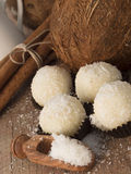 Coconut balls Royalty Free Stock Image