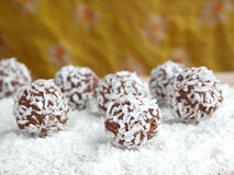 Coconut balls Stock Image