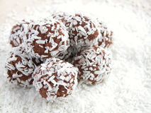 Coconut balls Stock Photo
