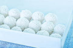 Coconut balls Royalty Free Stock Photography