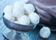 Coconut balls Royalty Free Stock Photo