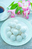 Coconut balls Royalty Free Stock Images