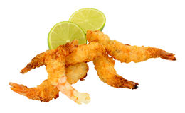Coconut And Batter Coated Prawns Royalty Free Stock Photo